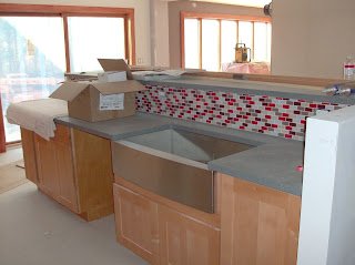 Tiled Kitchen Island Designs