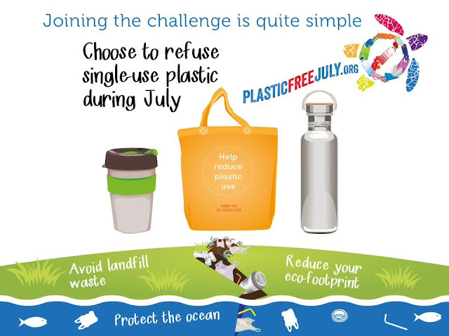 Plastic Free July 2017