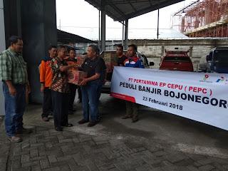 Reaksi Cepat PEPC Bantu Korban Banjir Bojonegoro Bojonegoro
