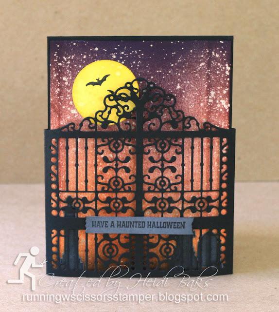 Stampin' Up! Graveyard Gate
