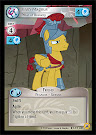 My Little Pony Flash Magnus, Pillar of Bravery Friends Forever CCG Card