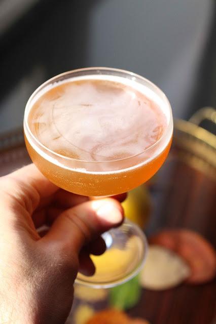 cocktail mezcal liqueur de chataigne