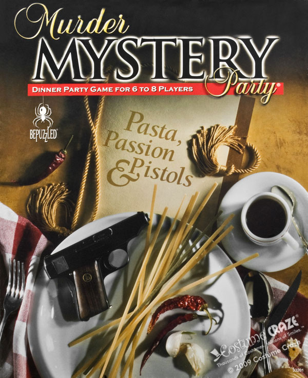 Murder Mystery Dinner Sheet Free: Invite And Delight: Murder Mystery Dinner Night