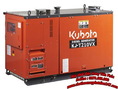 Máy phát điện Kubota 21kva KJ-T210VX