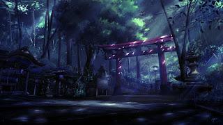 El bosque santo de Okunoin.