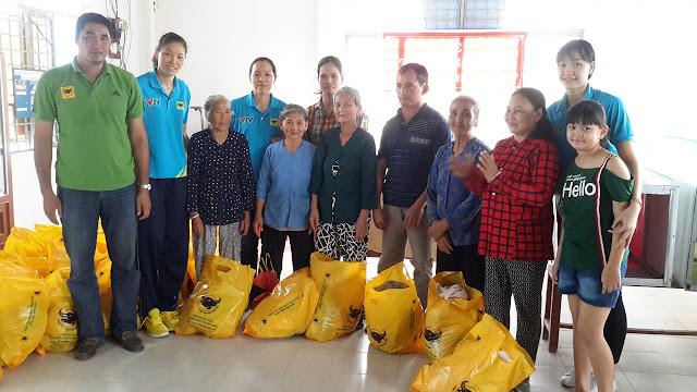 VTV Bình Điền Long An tặng quà Tết người nghèo