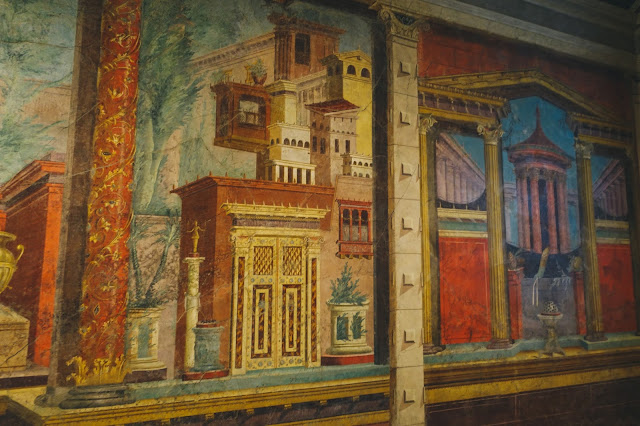 Cubiculum(bedroom)from the Villa of P. Fannius Synistor at Boscoreale