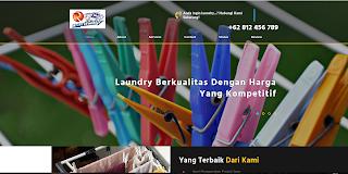 Source Code Aplikasi Jasa Laundry Web dengan PHP dan MySQL
