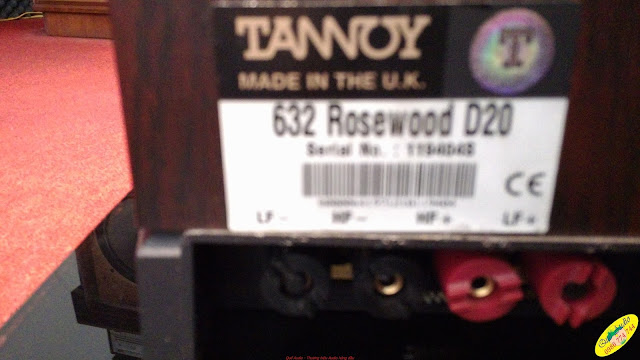 Loa Tannoy D20 - Made in UK
