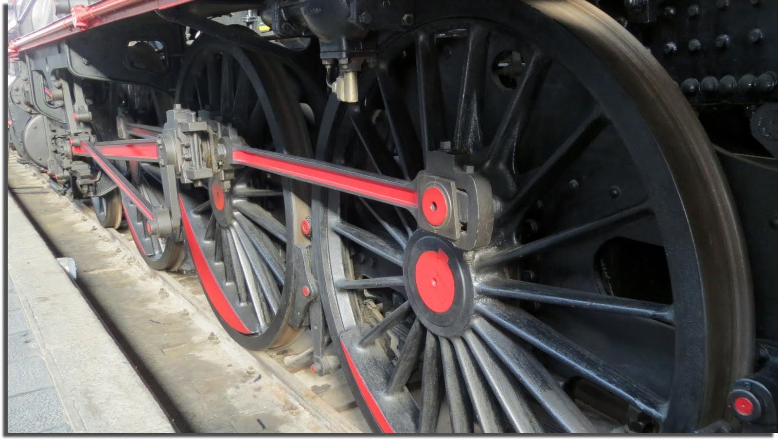 Trenes antiguos. Museo del Ferrocarril de Madrid