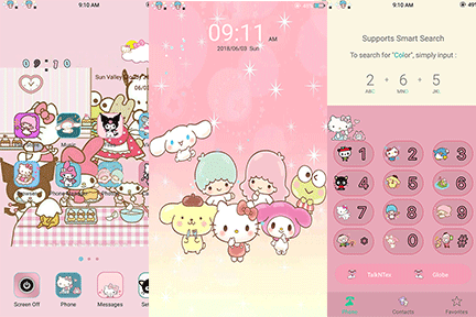 Oppo Theme: Oppo Sanrio & Friends Theme