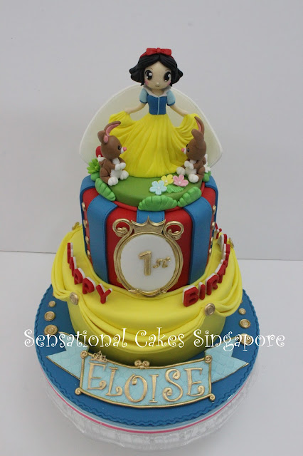 princess 3D cake Singapore