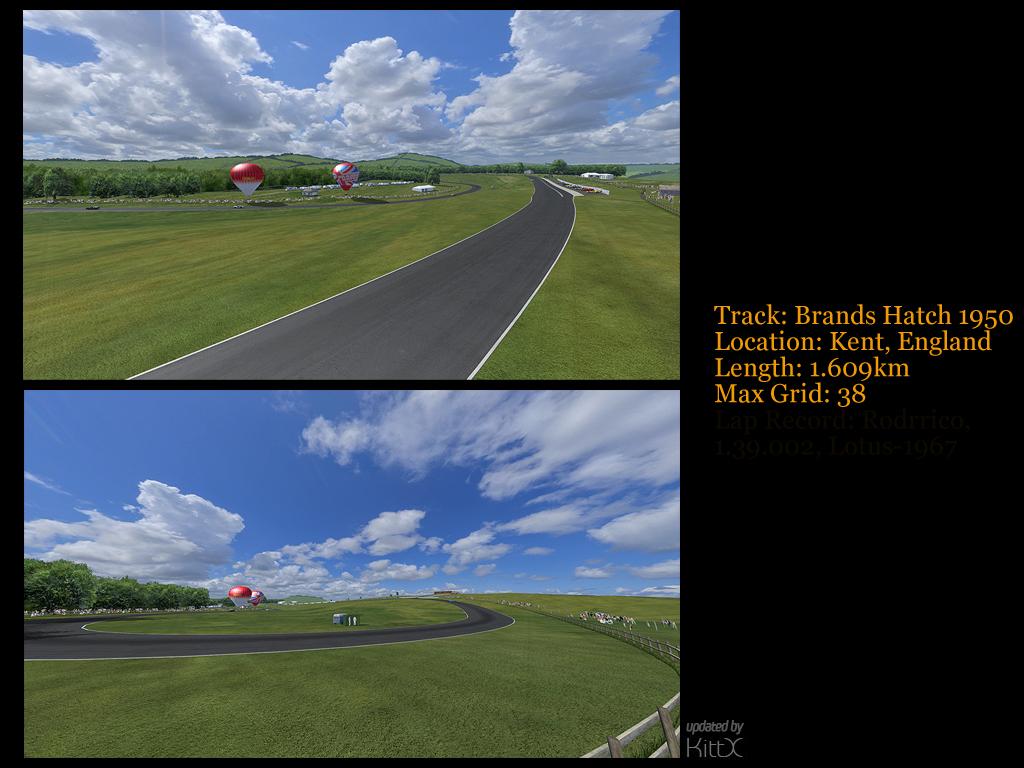 Formula Rodrrico Brands Hatch 1950  Update Released