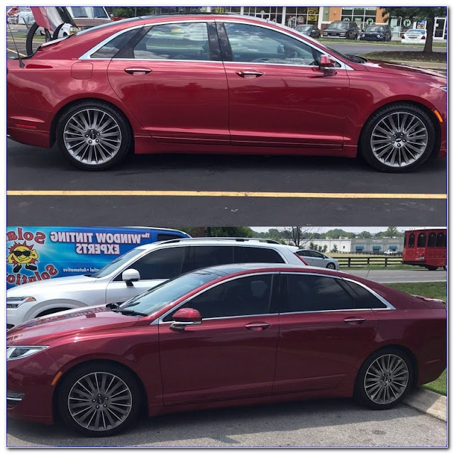 25 Percent WINDOW TINT Before And After Pictures
