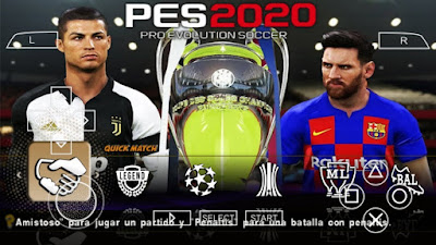 PES 2020 Android Offline 400 MB New Kits Update Best Graphics