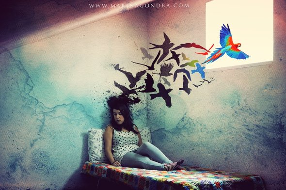 Marina Gondra 500px fotografia photoshop surreal emotivo foto-manipulação digital sonhos