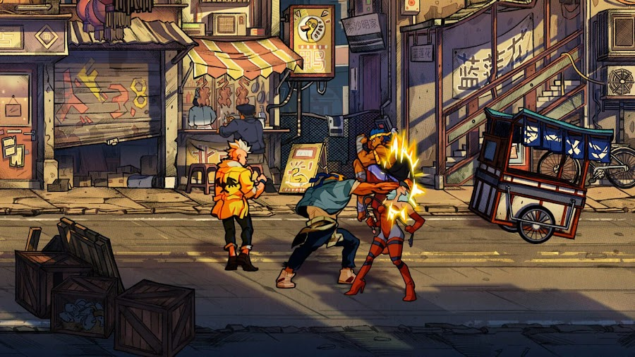 streets of rage 4 screenshots axel stone guard crush games