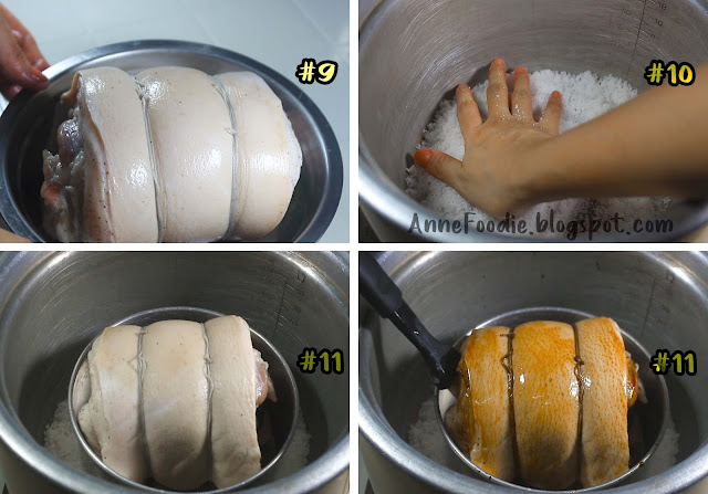 Step by step on making Lechon Pork Belly without an oven.