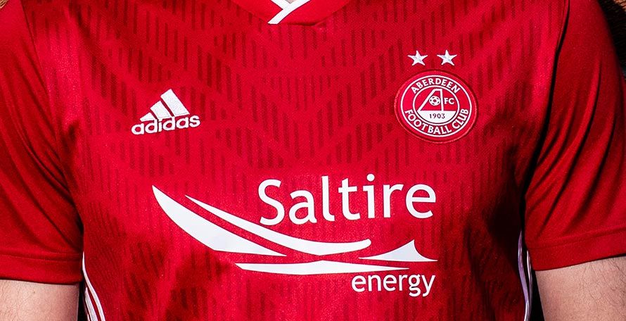 e3868ec36 Aberdeen FC this morning unveiled their new 2019-2020 home kit