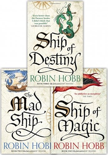 Our Book Reviews Online: The Liveships Trilogy by Robin Hobb