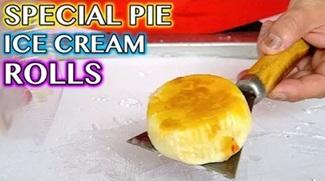 Special PIA CAKE Ice Cream Rolls