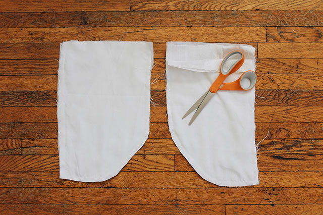 DIY pockets for a dress