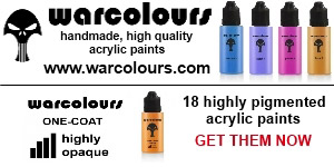 Warcolours - hand made, quality acrylic paints