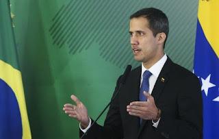 Guaidó pede para Europa intensificar sanções contra governo de Maduro