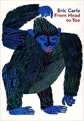 From head to toe es genial para trabajar las partes del cuerpo, los animales salvajes y verbos de acción.