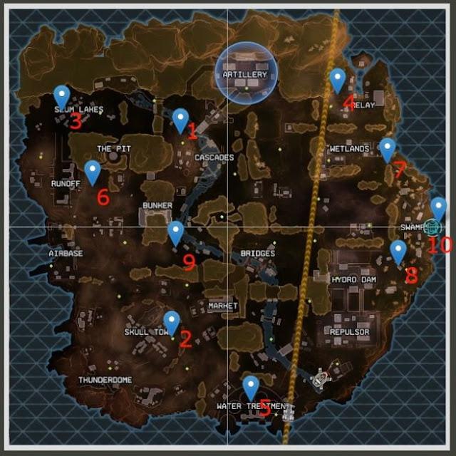 Yaratığı oyunda görmek istiyorsanız, aşağıdaki haritada yer alan bölgeye gitmeniz gerekiyor.