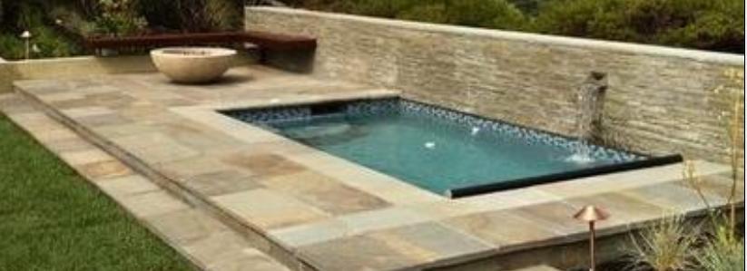 Fotos de jardin jardines de casa de una piscina for Piscinas en patios de casas