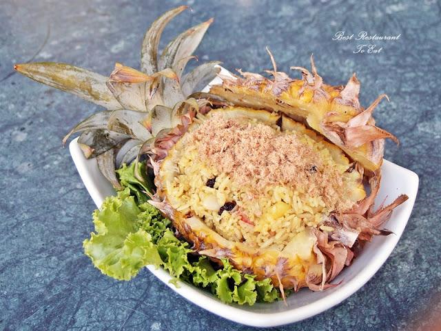 Aroi Dee Thai Restaurant Putrajaya Palm Garden Hotel IOI Resort Pineapple Fried Rice