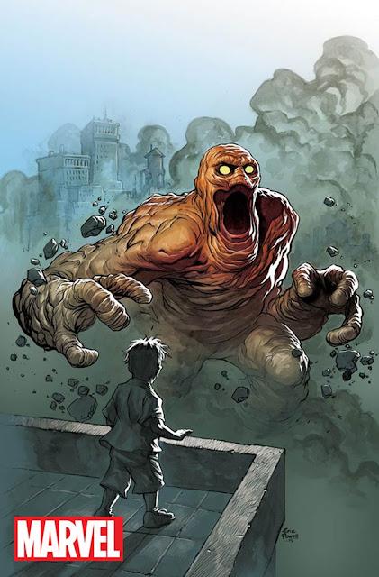 Rommbu monstruo de Jack Kirby