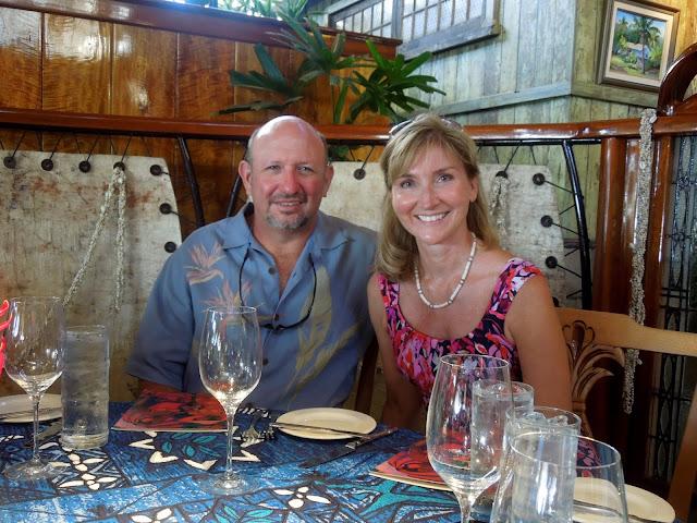 Ron and Susan at Mama's Fish House