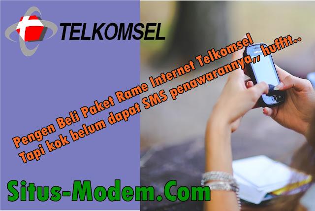 Program Rame Internet : Promo Paket Internet Telkomsel Murah Khusus Pelanggan Tertentu, Kuota 8 GB Cuma Rp 50.000 !!!!