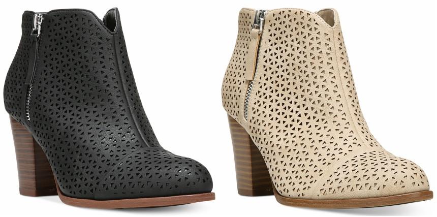 Fergalicious Caroline Block-Heel Booties for only $31 (reg $69)