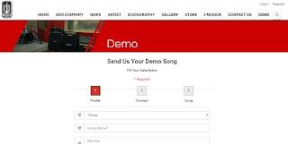 kirim demo lagu ke label musica studios