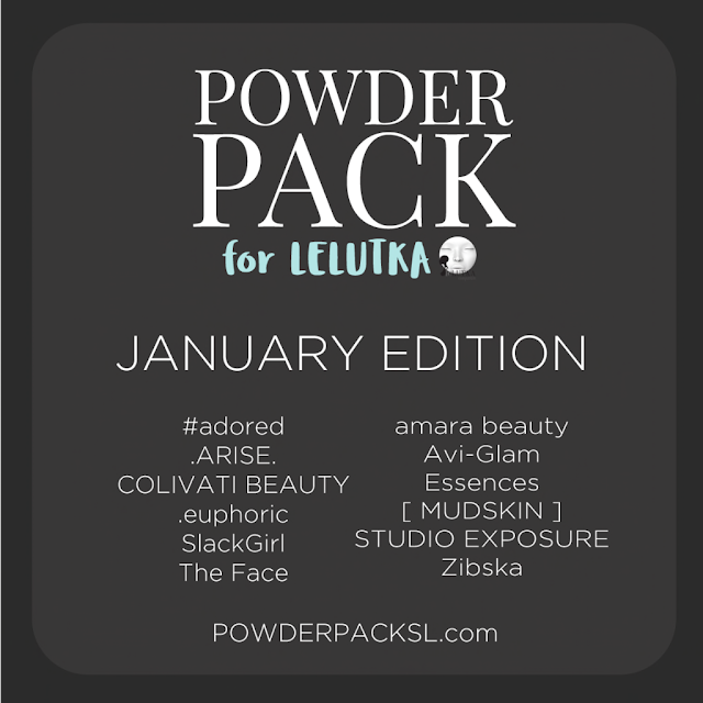 Powder Pack Lelutka January Edition