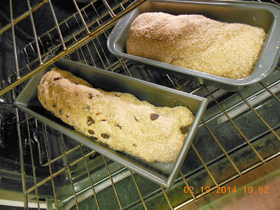 Wheat and Honey Loaves, proof bread dough is a warm spot.