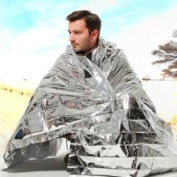 Купить спасательное одеяло из фольги