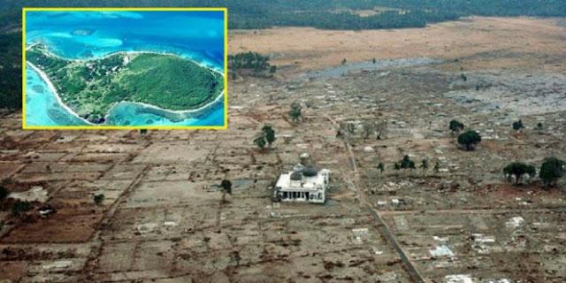 Tiga Pulau Hilang saat Tsunami Aceh Sekarang Muncul Kembali