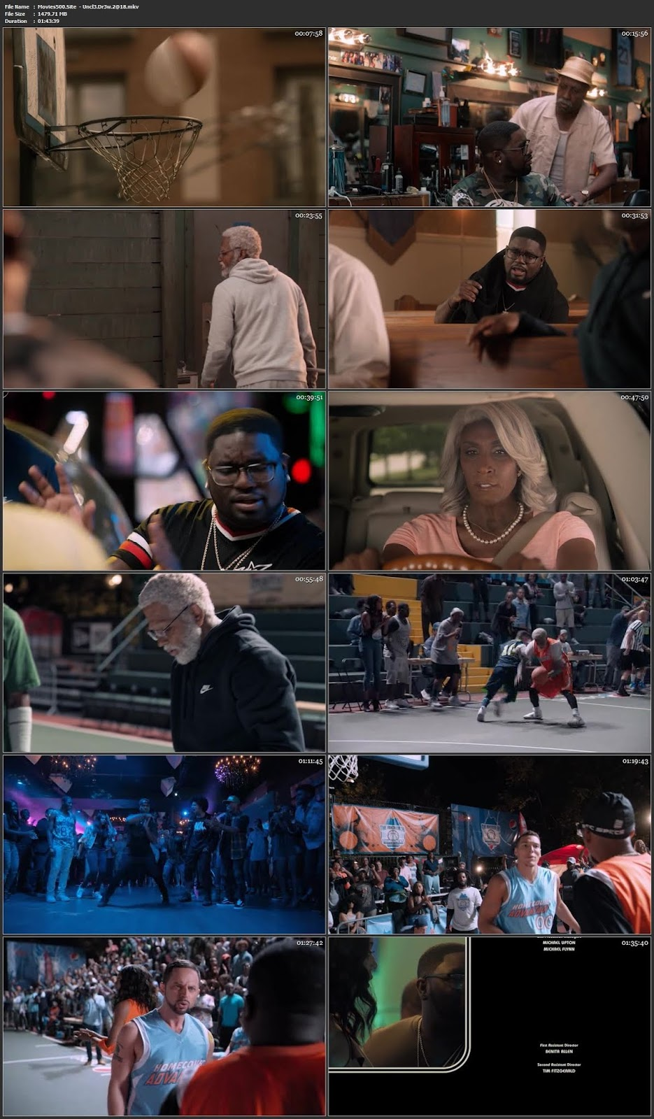 Uncle Drew 2018 Hollywood 300MB Movie DVDRip 480p
