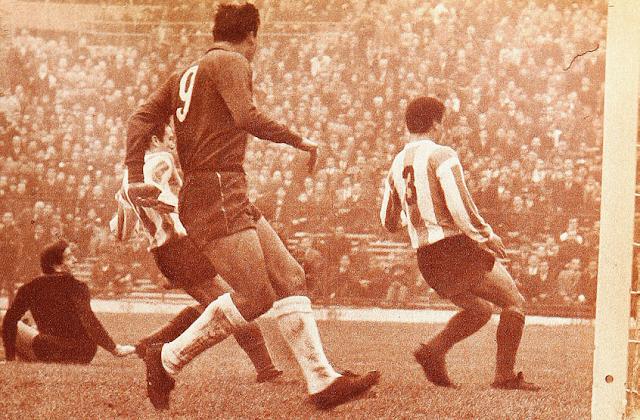 Chile y Argentina en Copa Carlos Dittborn 1965, partido de vuelta