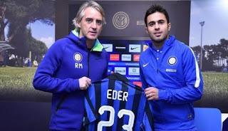 Bahas Eder, Sampdoria dan Inter Gagal Capai Kesepakatan