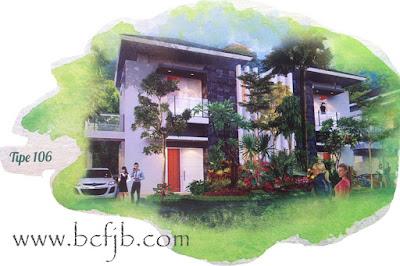 Rumah Minimalis Mewah harga murah tipe 106 di kota batam