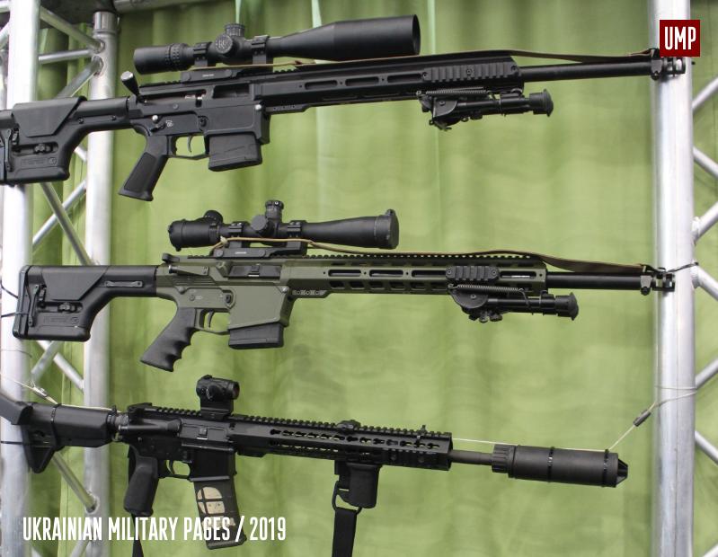 Відеопрезентація гвинтівки української армії UAR-10