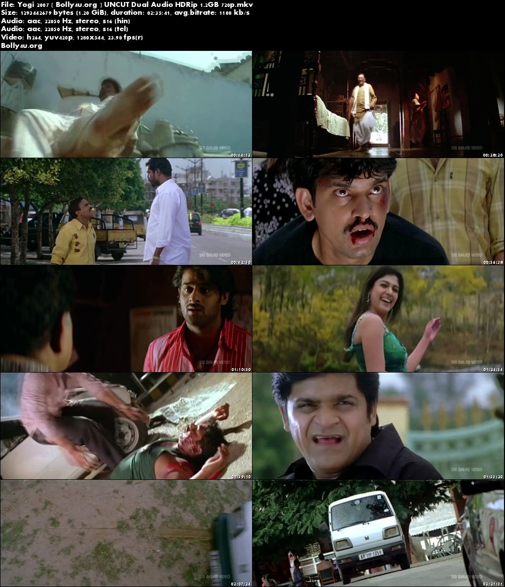 Yogi 2007 HDRip UNCUT Hindi Dubbed Dual Audio 720p Download