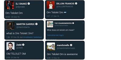 Om Telolet Om, Jadi Perbincangan Selebritis Dunia