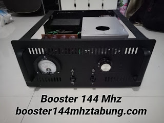 Booster 144 Mhz menggunakan Tabung