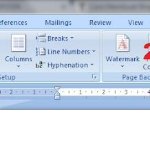 Cara Membuat Bingkai Keren Di Microsoft Word 2007